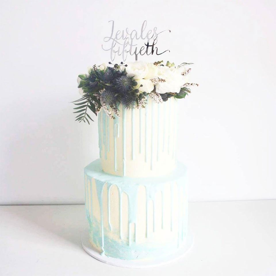 Cake by Petal & Peach Bakery